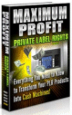 Product picture Maximum Profit Private Label Rights